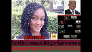 Zaneza Denyse umwe mu rubyiruko rwibasiwe na Tom Ndahiro ati JEM'ENFOUS njye mparanira ubwiyunge