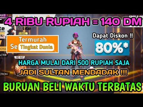MODAL 4 RIBU SAJA DAPAT 140 DIAMOND !! TRIK TOP UP DIAMOND FREE FIRE MURAH !! Auto Jadi Sultan !!!