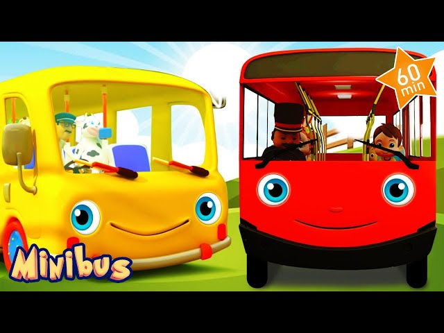 🚍 Nursery Rhymes for Children in English 🚌 Baby Songs   Kids Videos