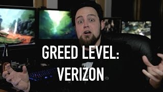 Greed Level: Verizon -  Logan Breaks Down Their Sociopathic Greed (From The Tek 0098)
