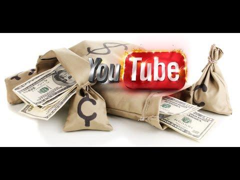 Видео курс по заработку на YouTube Заработок от 7000 рублей Как начать зарабатывать в 2018.