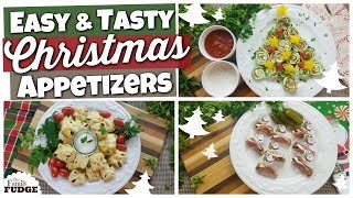 3 Christmas Appetizers   Quick + Easy + Frugal Recipes!