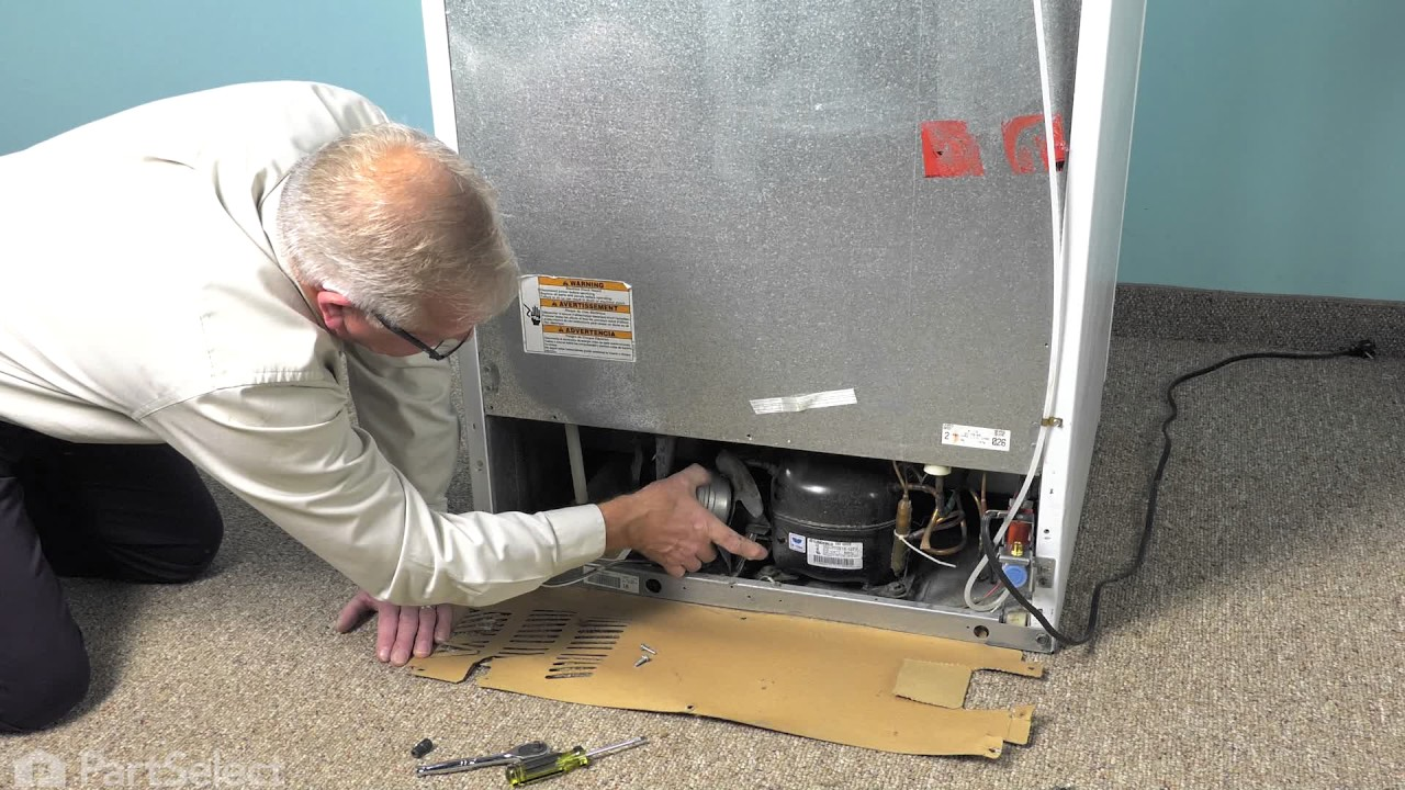Replacing your Whirlpool Refrigerator Condenser Fan Motor