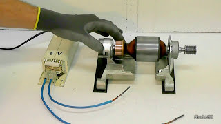 Download Video Strange rotation of an electric rotor video1 MP3 3GP MP4
