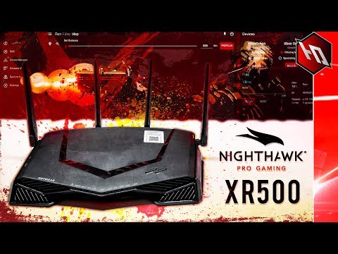 BEST GAMING ROUTER OF 2018?! (Netgear Nighthawk XR500 Unboxing)