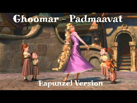 Ghoomar - Padmaavat  Animated Song   Rapunzel Kingdom Dance