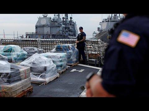 ΗΠΑ: Πάνω από 17 τόνους κοκαΐνης εντόπισε η ακτοφυλακή – world