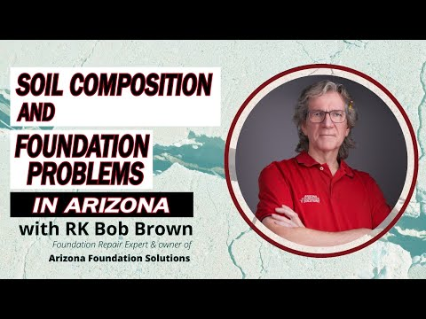 Bob Brown is a certified foundation repair specialist and the owner of Arizona Foundation Solutions, a Phoenix, AZ company specialized in structural damage repair and structural stabilization of all types of residential and commercial foundations. For over 28 years, Bob and his team have helped tens of thousands of area homeowners fix their cracked, settling, bowing, crumbling and damaged foundations. In this video Bob explains the very specific soil conditions found throughout the state of Arizona -- and especially around the Phoenix area -- which are often misunderstood by out-of-state contractors lacking the experience in dealing with these conditions, with disastrous consequence for area homeowners. In Phoenix, under desert conditions, the clay soil has been dry for millions of years. When a house is built in this dry soil, water from the roof will run and pool around the foundation, and eventually find its way underneath, causing the clay soil to expand and the foundation to heave.If your Arizona home is showing signs of any type of foundation problems, Arizona Foundation Solutions is your trusted, local company with over two decades of experience in the state. Call or visit our website to schedule your free, in-home inspection!