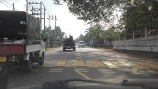 Driving in Sri Lanka, 2013.