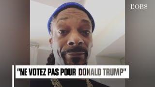 Snoop Dogg attaque violemment Donald Trump dans une vidéo virale