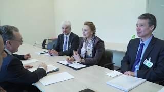 Զոհրաբ Մնացականյանը հանդիպեց Եվրոպայի խորհրդի գլխավոր քարտուղար Մարիա Պեյչինովիչ Բուրիչի հետ