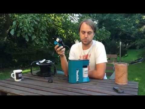 Makita Kaffeemaschine DCM500Z Test - Ich mache einen Kaffee