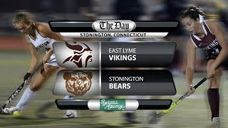 Full replay: ECC Field Hockey Final - East Lyme at Stonington