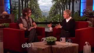 Johnny Depp on The Ellen DeGeneres Show - FULL INTERVIEW (2012/05/08)