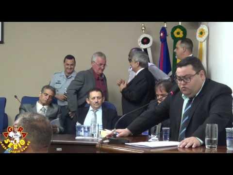 Sessão Solene dia 27 de Março de 2017 Juquitiba 52 anos - Homenagem póstuma  Sr Istércio Machado