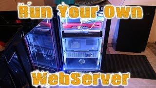 Home Server Rack Explained - Host Your Own Websites - Log #1