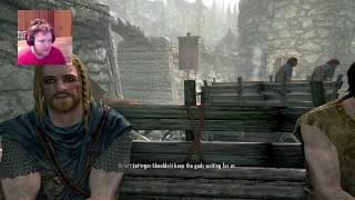 Skyrim Part 1: I LOVE THIS GAME