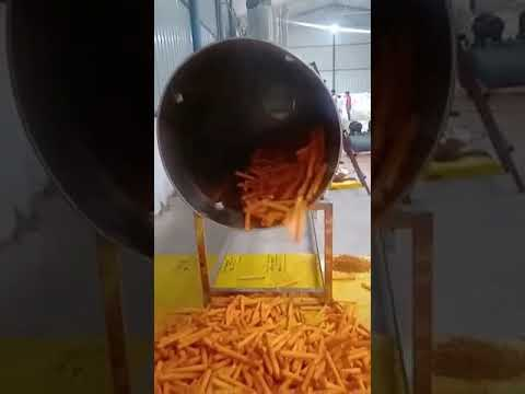Seasoning And Flavor Coating Machines