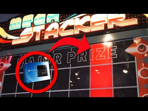 Can I WIN the PS4 from the Arcade?