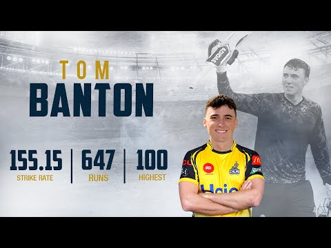 TOM BANTON JOINS THE YELLOW STORM