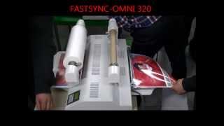 GMP FASTSYNC OMNI 320 For Both Pouch N Roll Lamination Including Sleeking