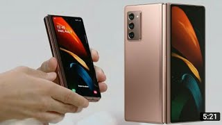 Samaung Galaxy Z fold 2 unboxing