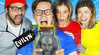 We Trapped the Evil Ghost Evilyn Living in Our House!
