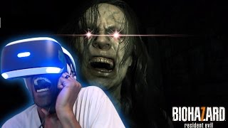 HEART ATTACK INCREASED BY 1000% | Resident Evil 7: Biohazard #1  [PlayStation VR]