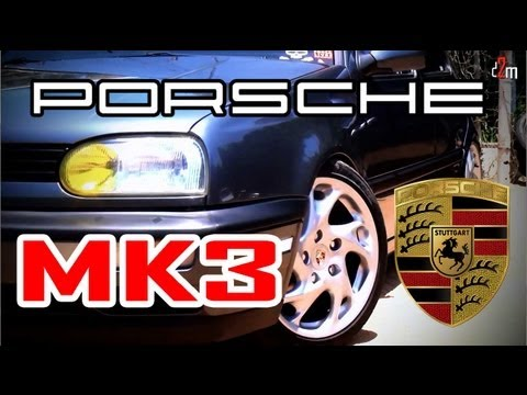 VW Golf MK3 + Porsche Wheels = Canal D2M