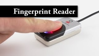 Video DigitalPersona U.are.U 4500 Fingerprint Read