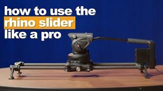 How to Use a Rhino Slider