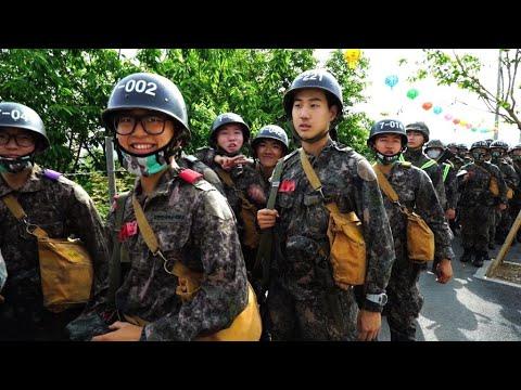 Few young men in South Korea escape military service