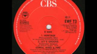 "Earth, Wind & Fire - Let's Groove (Extended Version) (12"" Vinyl)"