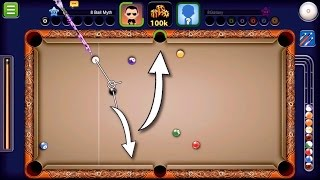 8 Ball Pool - Trick Shot Tutorial   How to Bank Shot in 8 Ball Pool (No Hacks/Cheats)
