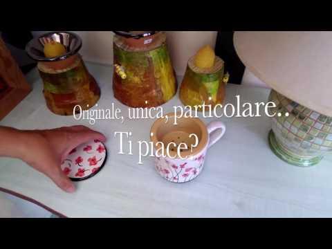 Tazza tisaniera con filtro e coperchio per conservare i tuoi infusi