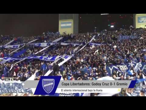 """""""Copa Libertadores - 8vos - Hinchada ante Gremio"""" Barra: La Banda del Expreso • Club: Godoy Cruz"""