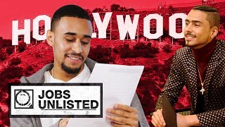 Quincy Brown Shows How To Be An Actor | Jobs Unlisted