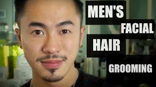 MENS FACIAL HAIR GROOMING (ASIAN MEN EDITION) || ROSS KWAN