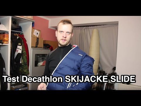 Test Decathlon SKIJACKE SLIDE 300 WARM HERREN WED'ZE | Skijacke Test | Snowboardjacke Test
