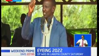 2022 POLITICS: Local leaders vow to back DP Ruto in 2022 State House race