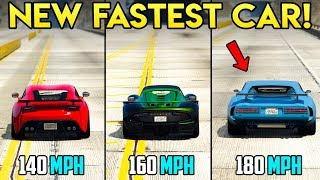 GTA Online: NEW FASTEST TOP SPEED VEHICLE   Lampadati Viseris Review + Should You Buy?