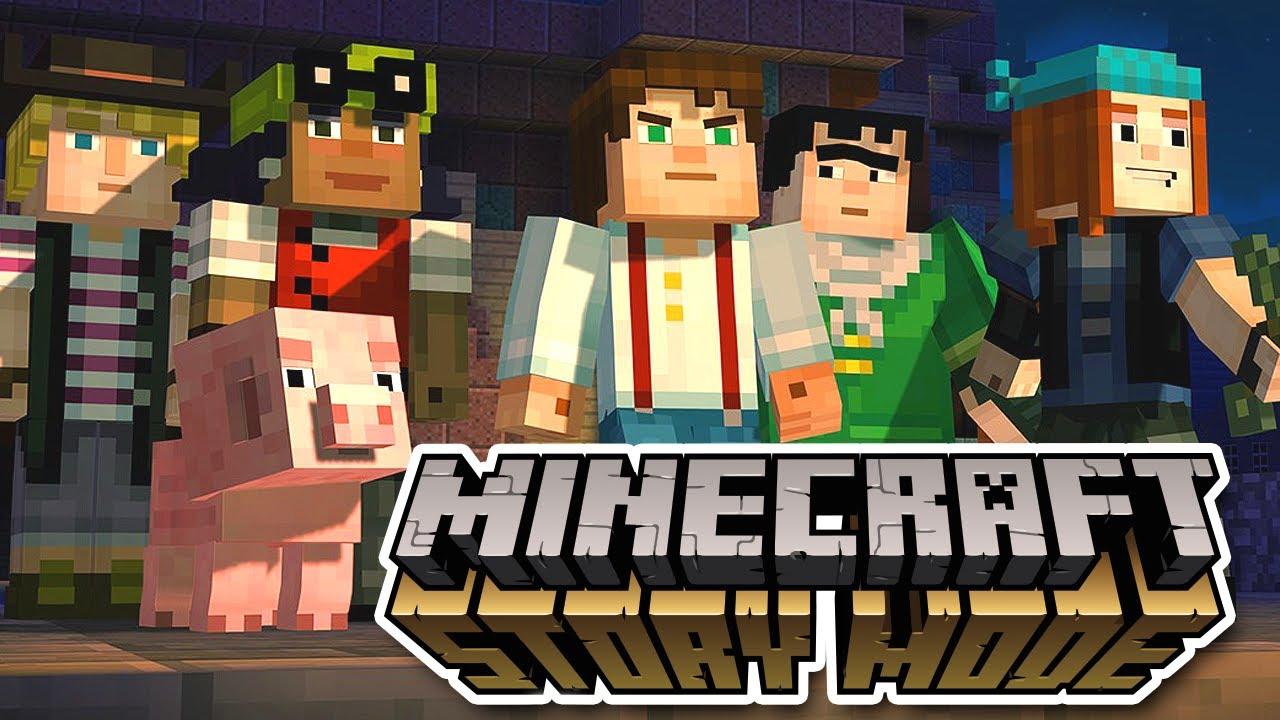 Как установить Minecraft Story Mode Season 1