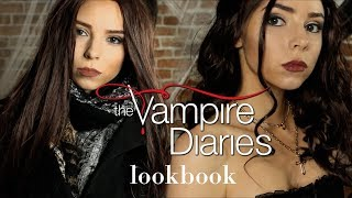 I TRIED RECREATING  THE VAMPIRE DIARIES OUTFITS, Elena & Katherine | Lookbook 2018