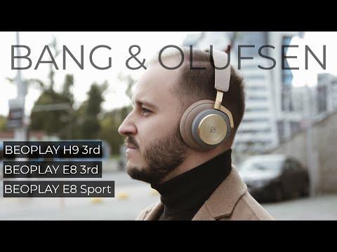 Наушники Bang & Olufsen Beoplay H9 3rd Gen (бежевый)