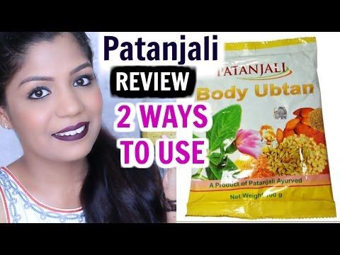 , title : 'Patanjali Body Ubtan Review| How To Use -Review| SuperPrincessjo'