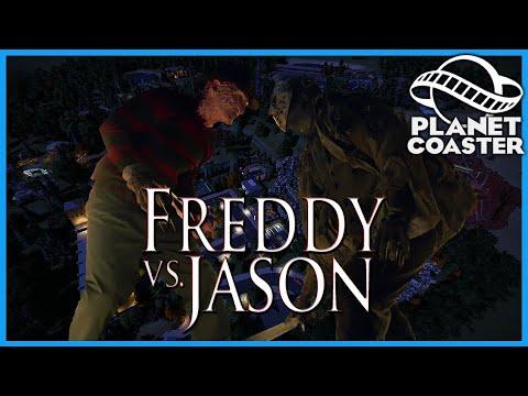 Freddy vs Jason: Dueling Horror Coasters! Planet Coaster: Coaster Spotlight 752
