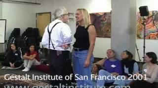 "Joseph Zinker ""Don't back off"" at the Gestalt Institute of San Francisco"