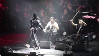 2 Cellos   Smooth Criminal & Billie Jean (Stožice, 08.04.2017)