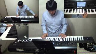 Dream Theater - Beneath the Surface keyboard cover