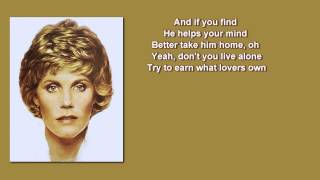 Anne Murray + Danny's Song +  Lyrics / HD
